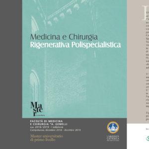 Master in Medicina e Chirurgia Rigenerativa Polispecialistica