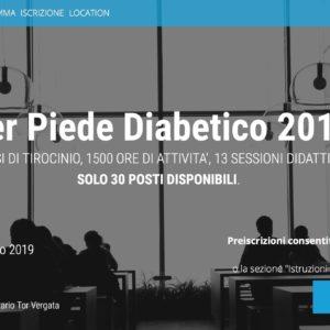 Master Piede Diabetico 2018-2019